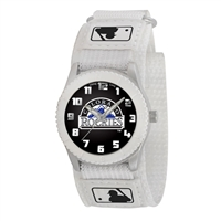 Colorado Rockies MLB Kids Rookie Series Watch (White)
