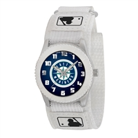 Seattle Mariners MLB Kids Rookie Series Watch (White)