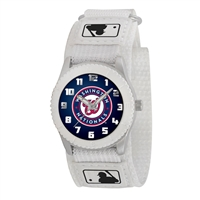 Washington Nationals MLB Kids Rookie Series Watch (White)
