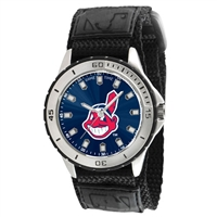 Cleveland Indians MLB Mens Veteran Series Watch