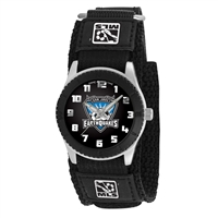 San Jose Earthquakes MLS Kids Rookie Series watch (Black)