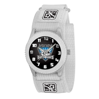 San Jose Earthquakes MLS Kids Rookie Series Watch (White)