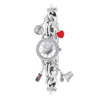 Dallas Mavericks NBA Women's Charm Series Watch