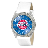 Detroit Pistons NBA Ladies Glitz Series Watch