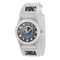 Dallas Mavericks NBA Kids Rookie Series Watch (White)