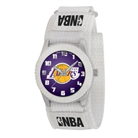 Los Angeles Lakers NBA Kids Rookie Series Watch (White)