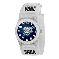 Oklahoma City Thunder NBA Kids Rookie Series Watch (White)