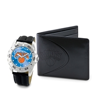 New York Knicks NBA Men's Watch & Wallet Set
