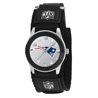 New England Patriots NFL Kids Rookie Series watch (Black)