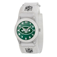 New York Jets NFL Kids Rookie Series Watch (White)