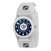Winnipeg Jets NHL Kids Rookie Series Watch (White)
