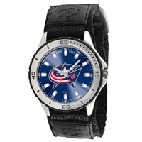 Columbus Blue Jackets NHL Mens Veteran Series Watch