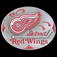 NHL Belt Buckle - Detroit Red Wings