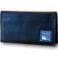NHL Dylex. Checkbook Cover in Box -  New York Rangers