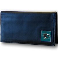 San Jose Sharks NHL Dylex Checkbook Cover