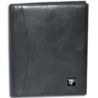 Pittsburgh Penguins NHL Leather Portfolio