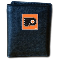 NHL Trifold Wallet in Tin -  Philadelphia Flyers