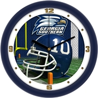 "Georgia Southern Eagles 12"" Football Helmet Wall Clock"