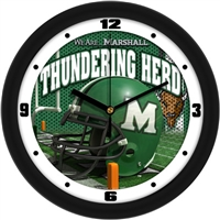 "Marshall Thundering Herd 12"" Football Helmet Wall Clock"