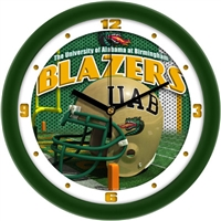 "Alabama Birmingham Blazers 12"" Football Helmet Wall Clock"