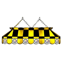 Pittsburgh Steelers NFL 40 Inch Billiards Stained Glass Lamp