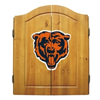 Chicago Bears NFL Dart Board w/Cabinet