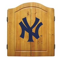 New York Yankees MLB Dart Board w/Cabinet