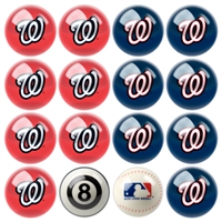 Washington Nationals MLB 8-Ball Billiard Set