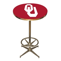 Oklahoma Sooners NCAA Pub Table