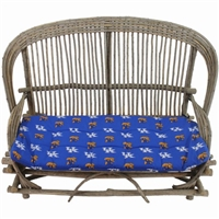 Kentucky (UK) Wildcats Settee Cushion