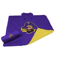 East Carolina Pirates NCAA All Weather Blanket