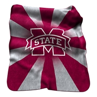 Mississippi State Bulldogs NCAA Raschel Throw