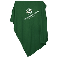 CS Sacramento Hornets NCAA Sweatshirt Blanket Throw