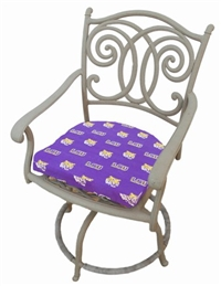 Louisiana State (LSU) Tigers D Cushion