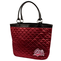 Montana Grizzlies NCAA Quilted Tote (Dark Red)