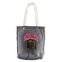 Montana Grizzlies NCAA Vintage Denim Shopper