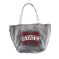 Mississippi State Bulldogs NCAA Vintage Denim Tote