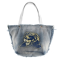 Pittsburgh Panthers NCAA Vintage Denim Tote