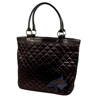 Montana State Bobcats NCAA Sport Noir Quilted Tote