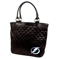 Tampa Bay Lightning NHL Quilted Tote (Black)