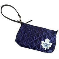 Toronto Maple Leafs NHL Quilted Wristlet (Navy)