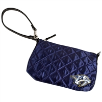 Nashville Predators NHL Quilted Wristlet (Navy)