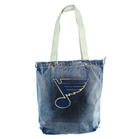 St. Louis Blues NHL Vintage Denim Shopper