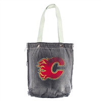Calgary Flames NHL Vintage Denim Shopper