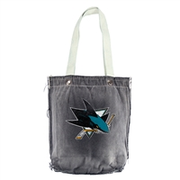 San Jose Sharks NHL Vintage Denim Shopper