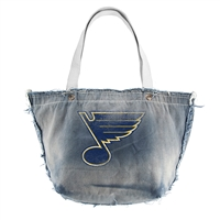St. Louis Blues NHL Vintage Denim Tote