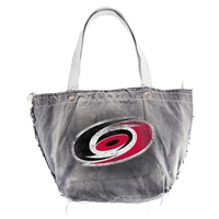 Carolina Hurricanes NHL Vintage Denim Tote