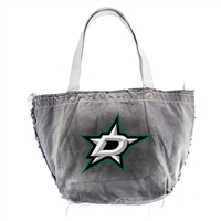 Dallas Stars NHL Vintage Denim Tote