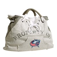 Columbus Blue Jackets NHL Property Of Hoodie Tote