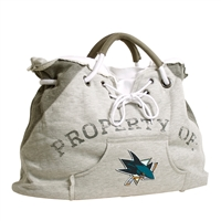 San Jose Sharks NHL Property Of Hoodie Tote